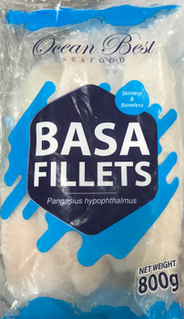 OB BASA FILLET PACK 800G