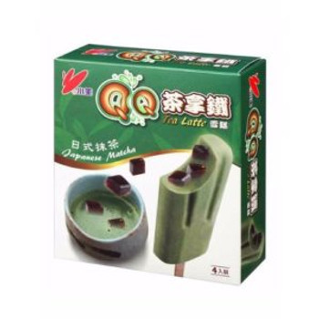 XIAOMI ICE BAR QQ LATTE MATCHA 4PK