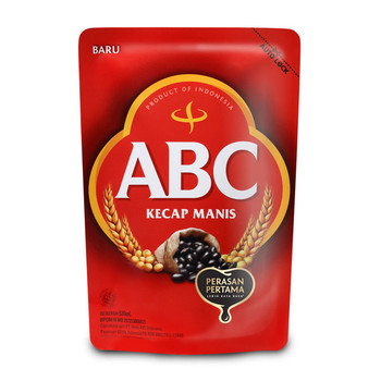 ABC SWEET SOY SAUCE REFILL 520ML