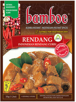 BAMBOE RENDANG CURRY 35G