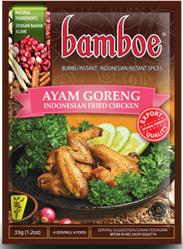 BAMBOE AYAM GORENG FRIED CHICKEN 33G
