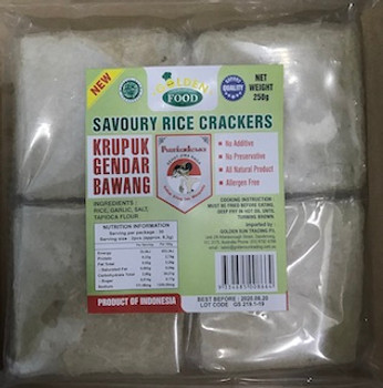 GF SAVOURY RICE CRACKERS 250G