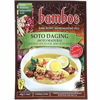 BAMBOE SOTO MADURA BEEF SOUP 40G