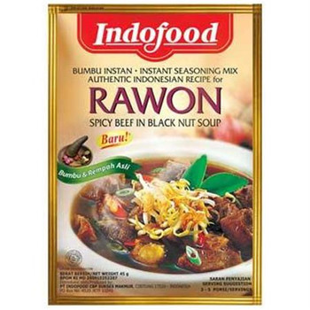 INDOFOOD RAWON HOT BEEF SOUP 45G