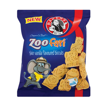 BAKERS ZOO BISCUIT MINI 40G