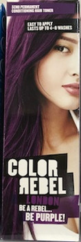 COLOR REBEL HAIR COLOUR PURPLE