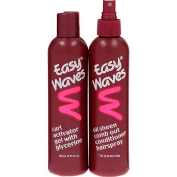 EASY WAVES HAIR SPRAY&GEL COMBO 250ML