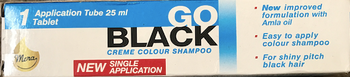 GO BLACK COLOUR SHAMPOO 25ML