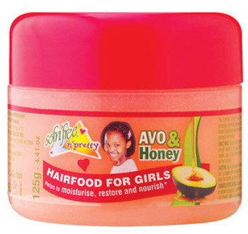 SOF N FREE KIDS AVO HONEY HAIR FOOD 125G
