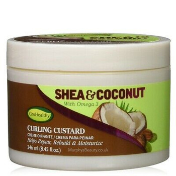 SOF N FREE SHEA&COCO CURLING CUSTARD 246ML