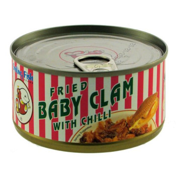 SMLING FISH FRIED BABY CLAM WITH CHILI 70G