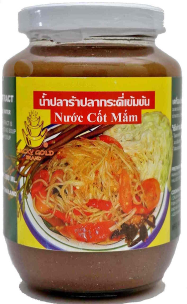 LUCKY GOLD PICKLED GOURAMY FISH EXTRACT 500G