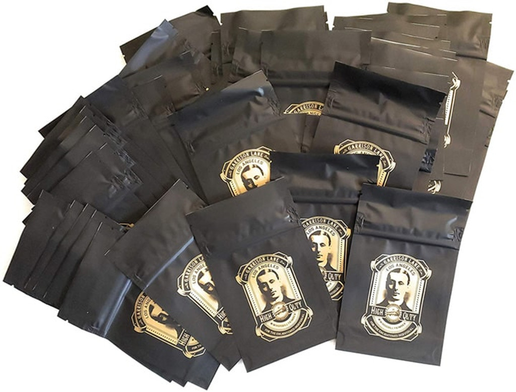 Billy Kimber 3.5 Grams Smell Proof Mylar Bags (FREE SHIPPING)