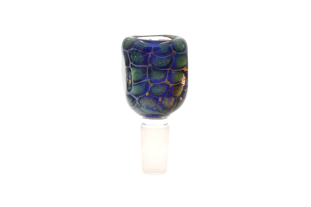 Glass Turtle Shell Bowl 14mm Male (FREE SHIPPING)