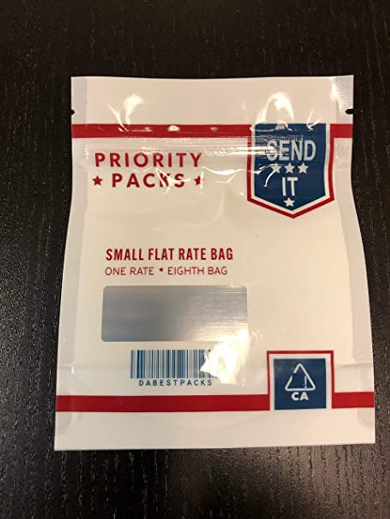 Priority Mylar bag 3.5g Smell Proof Airtight Mylar Bag