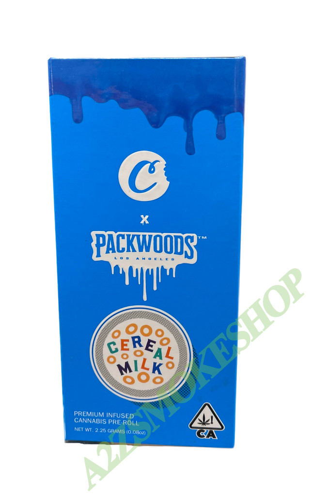 Packwoods Cookies  Packaging Box with Tubes & Holographic Sticker