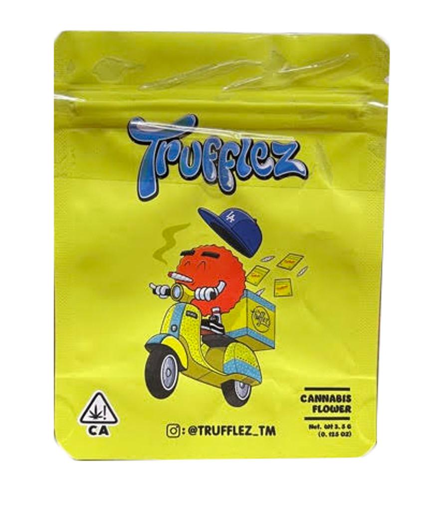 Trufflez Mylar bag 3.5g Smell Proof Airtight Mylar Bag- Packaging Only