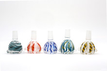 Glass Swirl Bowl 14mm Male (FREE SHIPPING)