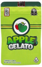 Apple Gelato by Backpack Boyz 3.5g size mylar bags with TAMPER STICKER  (FREE SHIPPING)