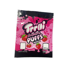 Trrlli Strawberry puffs 600mg Mylar bags