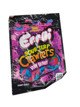 Errlli  Sour Terp Very Berry  Crawlers  600mg Mylar bags
