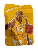 New 3.5g Smell Proof Airtight Mylar Bag Kobe OG Yellow Bag Only