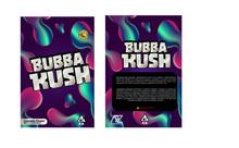 Black Unicorn - Bubba kush   Mylar bag 3.5g  For Flower  (FREE SHIPPING)