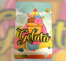 Black Unicorn - Gelato Mylar bag 3.5g  For Flower  (FREE SHIPPING)