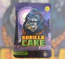 Black Unicorn -Gorilla Cake Mylar bag 3.5g  For Flower  (FREE SHIPPING)