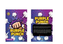 Black Unicorn - Purple Punch Mylar bag 3.5g  For Flower  (FREE SHIPPING)