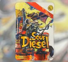 Black Unicorn - Sour Diesel Mylar bag 3.5g  For Flower  (FREE SHIPPING)