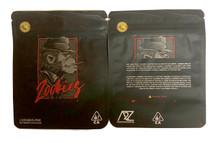 Black Unicorn - Zookies Mylar bag 3.5g  For Flower  (FREE SHIPPING)