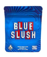 Seven Leaves Blue Slush Mylar bag 3.5g Smell Proof Airtight Mylar Bag- Packaging Only