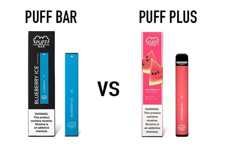 Puff Bar VS Puff Bar Plus | A2Z SmokeShop