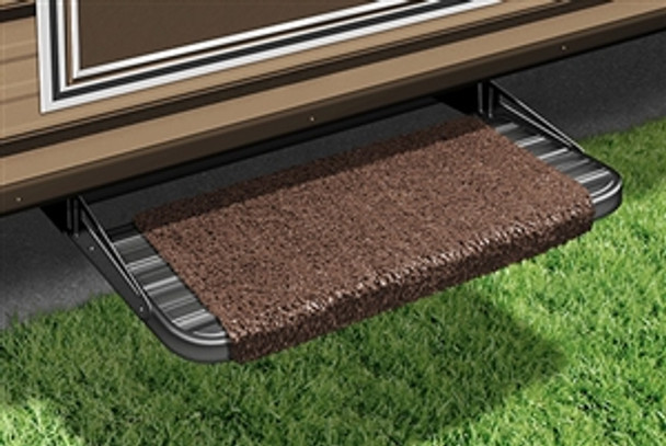 "18"" Wraparound RV Step Rug - Espresso"