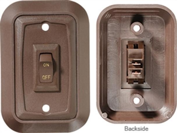 RV Designer DC Wall Plate Switch, Triple