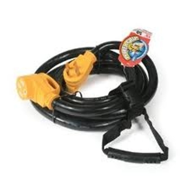 Camco RV Power Grip 15' Power Cord, 50A