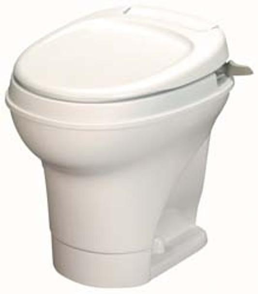 Thetford Aqua Magic V RV Toilet - Parchment- HIGH PROFILE - Hand Flush