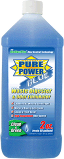 Pure Power Blue Waste Digester 64oz.