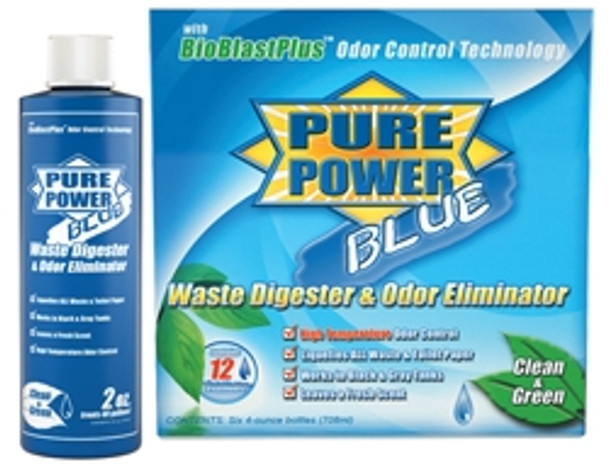 Pure Power Blue Waste Digester 4 oz.