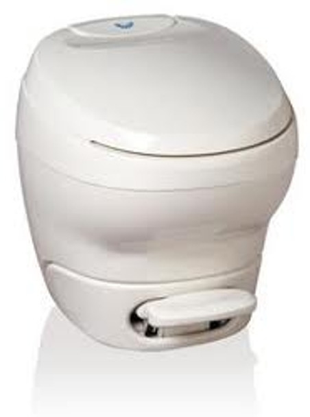 Thetford Bravura RV Toilet - Parchment - High Profile