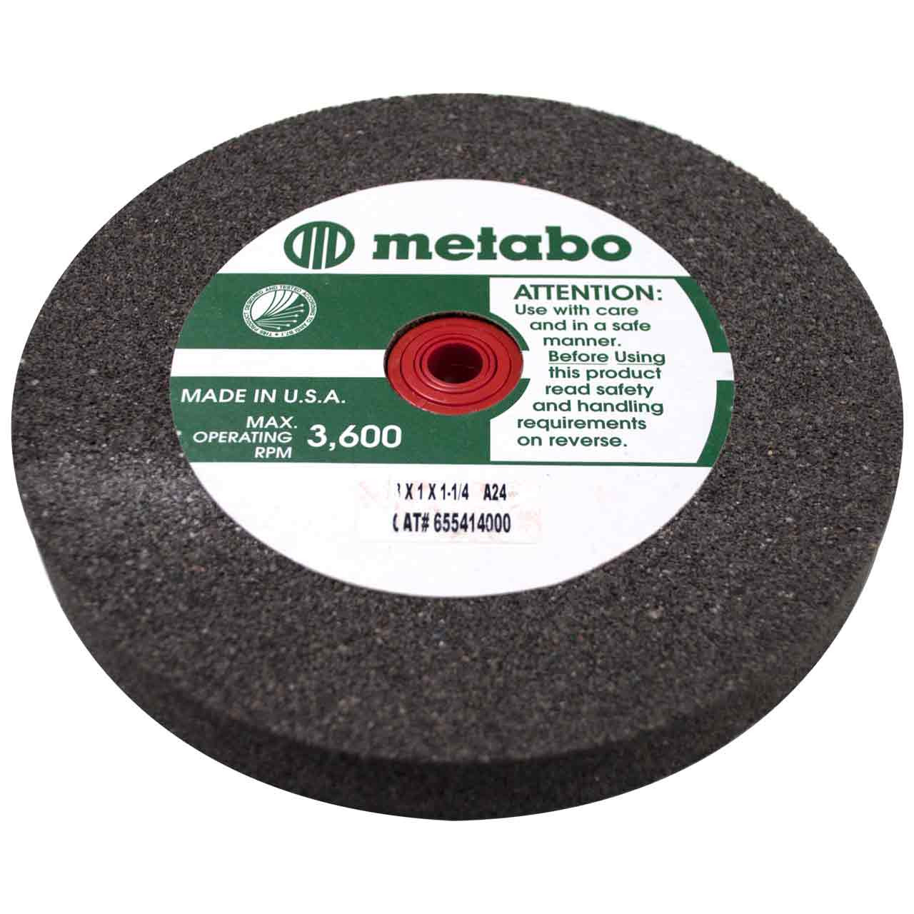 Excellent Metabo 655414000 8 X 1 X 1 1 4 Vitrified Wheel For Bench Grinders Theyellowbook Wood Chair Design Ideas Theyellowbookinfo