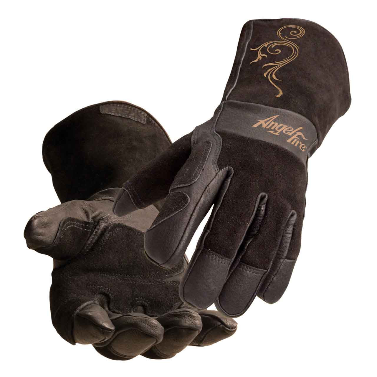 K3232-S Lincoln Electric Womens MIG Stick Welding Gloves Womens Small Kevlar Stitching