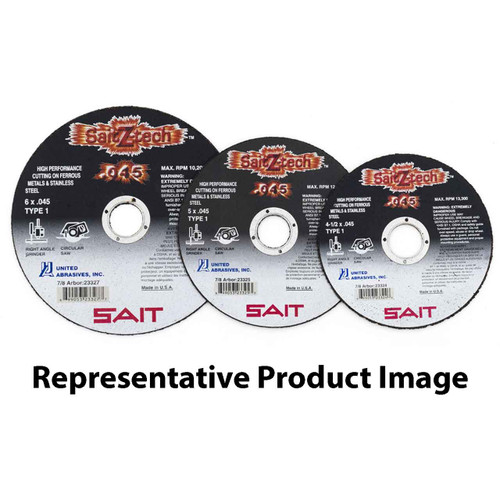 1-Pack United Abrasives-SAIT 28062 12 by 2 by 1-1//2 A60X Bench Grinding Wheel Vitrified