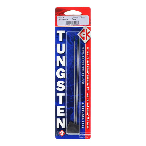 5-Pack Blue Demon TEP X 1//4 X 7 Pure Tungsten Electrode
