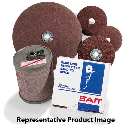 10-Pack United Abrasives-SAIT 25103 1-1//2 by 3 by 3//8-24 A16 Type 17 Cone