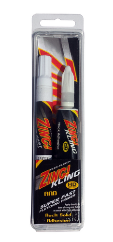 Zing! Combo - Fletching Primer Pen & Kling Adhesive Tube