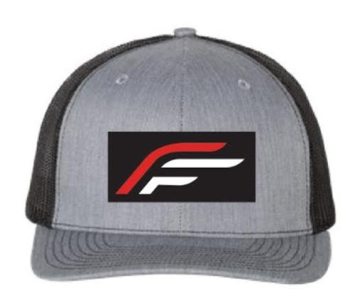 Flex-Fletch Cap With New Logo - Gray