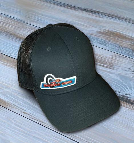 Flex-Fletch Cap With Original Logo - Black