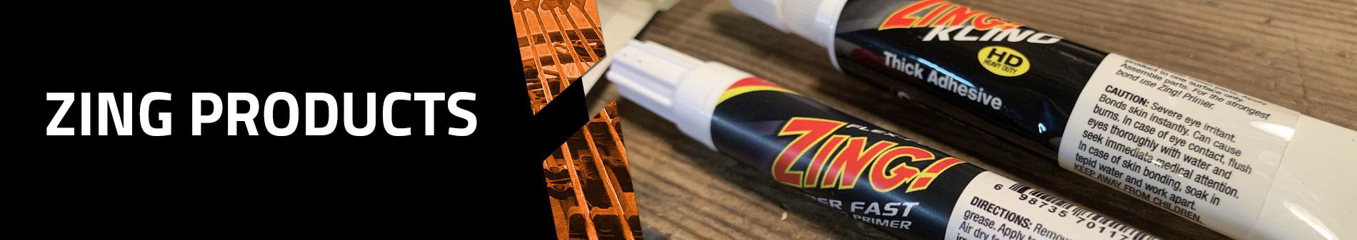 Zing & Flex-Bond Adhesives - Fletching Glue